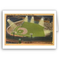 Fenway Park--Home of the Boston Red Sox, Boston, M Greeting Cards from Zazzle.com