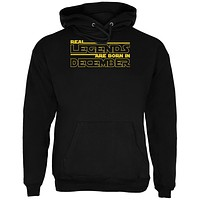 Real Legends are Born in December Mens Hoodie