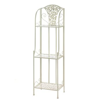 Lace Design Shelving Rack