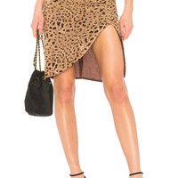 LPA Skirt 693 in Italian Leopard