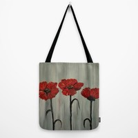 Poppy Trio Tote Bag by RokinRonda | Society6