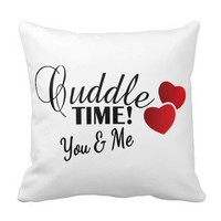 Cuddle Time for You & Me Pillow