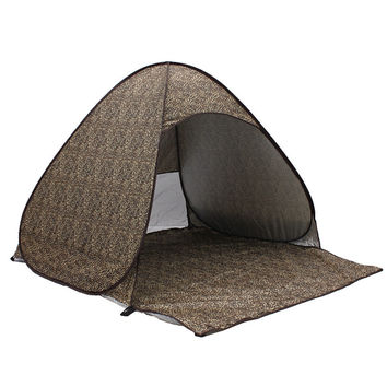2-3 Persons fishing tent Outdoor camping hiking beach summer tent UV protection fully sun shade quick open pop up beach awning