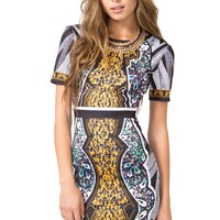Maze Out Mirror Dress