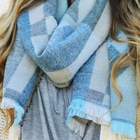 Shape Up Blanket Scarf: Multi