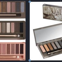 4pcs/lot NK1, 2,3, NK Smoky Makeup Set 12 Colors/Palette. You Get NK1, 2, 3, And Nk Smoky Eyeshadow Palettes Make Up With Brushes