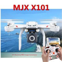 Professional RC Drones Dron MJX X101 With C4015 C4018 Camera FPV 2.4GHz 6 Axis Gyro Quadcopter 3D Roll Headless Mode Helicopter