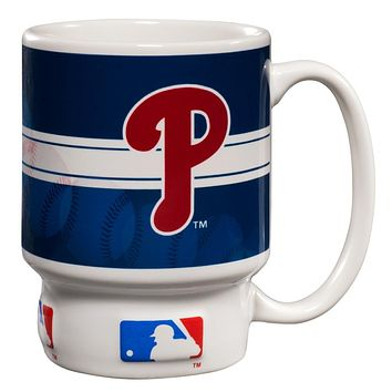 Philadelphia Phillies - Baseball Logo Homerun 16 oz Mug