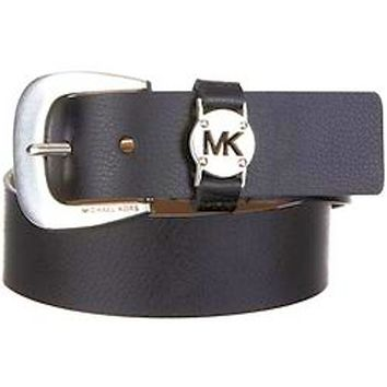 Michael Kors Womens Synthetic Leather Belt