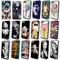 Special Discount! Marilyn Monroe Phone Cover for iPhone 5 5S Case Hard Case Hot Girl Pattern