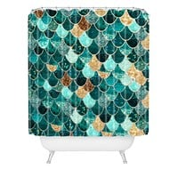 Monika Strigel Really Mermaid Shower Curtain
