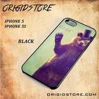 Hello Bear For Iphone 5/5S Case Gift Present - Multiple Choice Material
