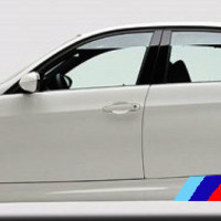 BMW M Series Panel Stripes
