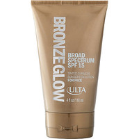 Bronze Glow Tinted Sunless Sunscreen Lotion For Face SPF 15