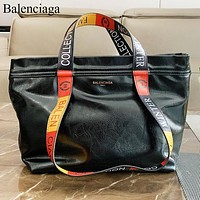 Balenciaga New fashion letter print shoulder bag women crossbody bag handbag Black