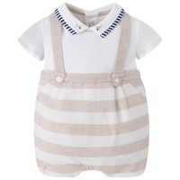 Mayoral Baby Boys' Stripe Onesuit