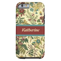 Old Fashioned Floral Abundance Tough iPhone 6 Case
