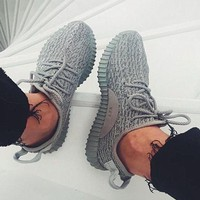 CREY1O simpleclothesv :Adidas' Women Yeezy Boost Sneakers Running Sports Shoes