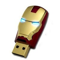 2012 Marvel Avengers Movie Iron Man Mark Iv 8gb Usb2.0 Flash Drive Tony Stark New and Fashion: Computers & Accessories