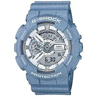 Casio G-Shock - Blue Denim Case - Magnetic Resistant - Ana-Digi - 200m