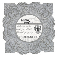 Home Accents Ornate Tile New York Picture Frame / Photo Frame