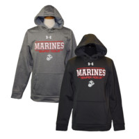 Marines Under Armour Fleece Hoodie | The Marine Shop