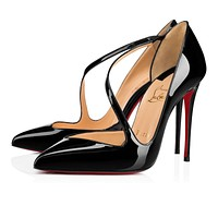 Christian Louboutin Pointed high heels 100 mm