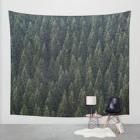 Cover Me Wall Tapestry by Tordis Kayma