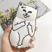 Cute Stylish On Sale Iphone 6/6s Hot Deal Hot Sale Cartoons With Pocket Cats Silicone Iphone Phone Case [6284038790]