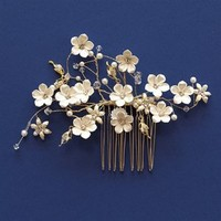 Unveiled Bridal   Stylish Wedding Essentials and Accessories. Flowered Comb