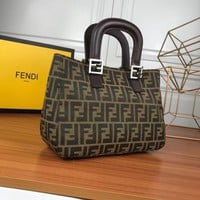 Fendi Women Leather Shoulder Bag Crossbody Satchel