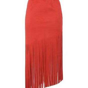 GEORGE J. LOVE 3/4 length skirt - Skirts D | YOOX.COM