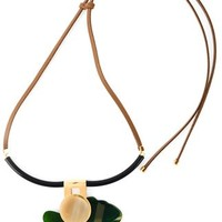 Marni Flower Pendant Necklace - Biffi - Farfetch.com