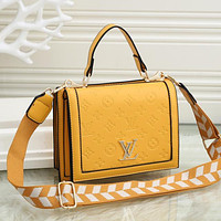 Louis Vuitton LV Fashion Leather Crossbody Handbag Satchel Shoulder Bag