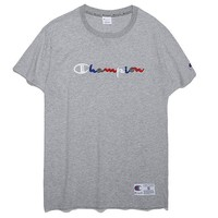 Champion Fashion Casual Shirt Top Tee-69