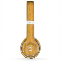 The Real Light Bamboo Wood Skin for the Beats by Dre Headphones (All Versions Available)