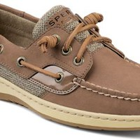 Sperry Top-Sider Ivyfish 3-Eye Boat Shoe Greige/Oat, Size 5M  Women's Shoes