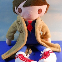 Adorable Doctor Who Doll~David Tennant~10th Doctor