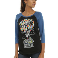 Disney Up Adventure Is Out There Girls Reversible Raglan