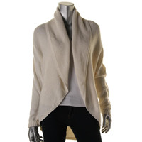 Charter Club Womens Petites Knit Long Sleeves Cardigan Sweater