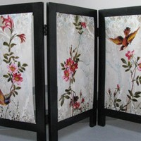 Floral Screen by textilewonder on Zibbet