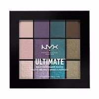 NYX Ultimate Multi-Finish Shadow Palette - Smoke Screen - #USP07