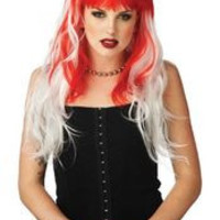 ALTERNA WIG RED/WHITE