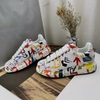 Alexander Mcqueen Graffiti Oversized Sneakers Reference #12 - Best Online Sale