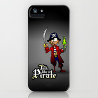 Talk like a Pirate iPhone & iPod Case by Cardvibes