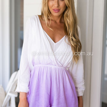 Olivia Ombre playsuit