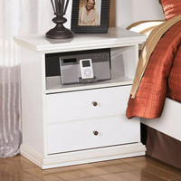 0-010656>Bostwick Shoals One Drawer Night Stand White