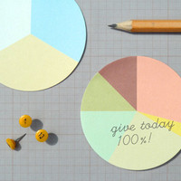 Present&Correct - Pie Chart Stickies