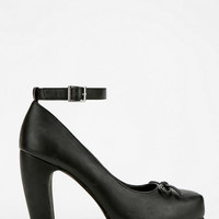 Kimchi Blue Ankle-Strap Bow Heel - Urban Outfitters
