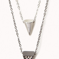 Layered Spike Necklace | FOREVER 21 - 1060345823